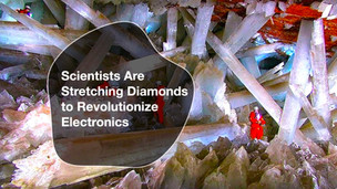The Dawn of a Diamond Age of Electronics is upon us