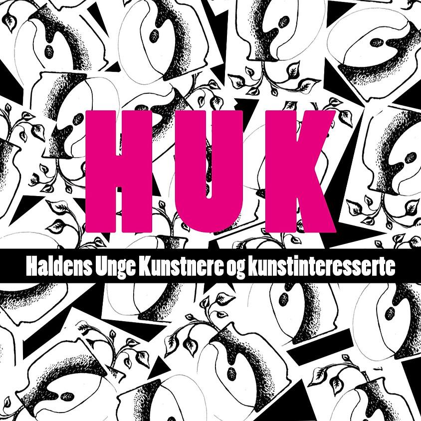 HUK - medlemskveld februar