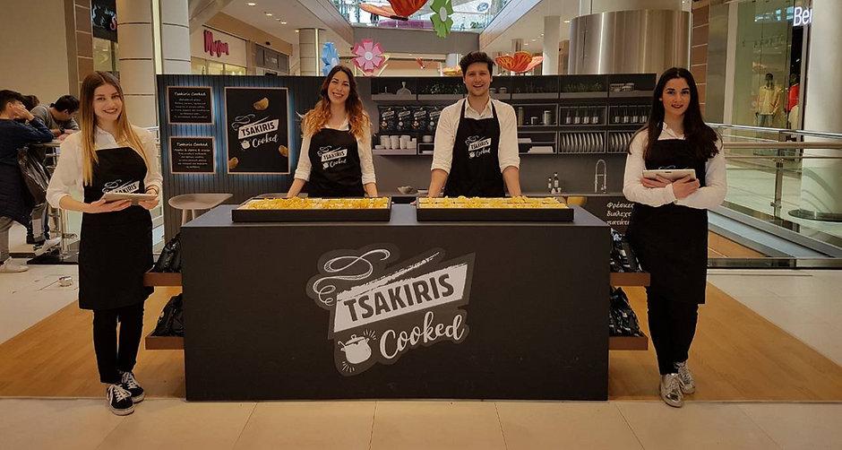 Tsakiris Promotional Activity at the Mall Athens