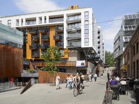 Vulcan area: Oslo's sustainable laboratory is the city's local treat!