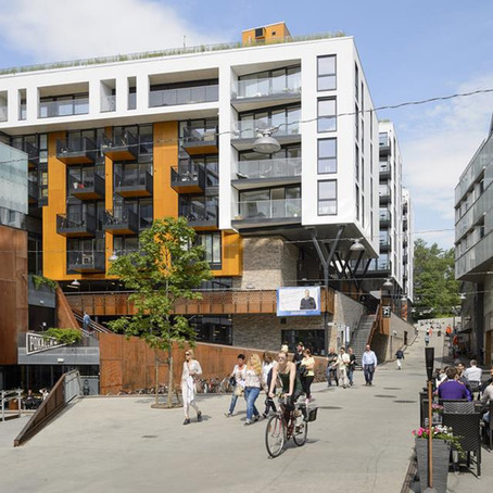 Vulcan area: Oslo's sustainable laboratory is the local treat!