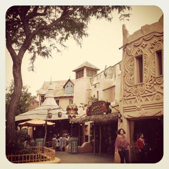 Disneyland 2012, Day 1