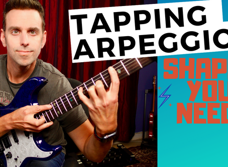 Tapping Arpeggios - Shapes You NEED!