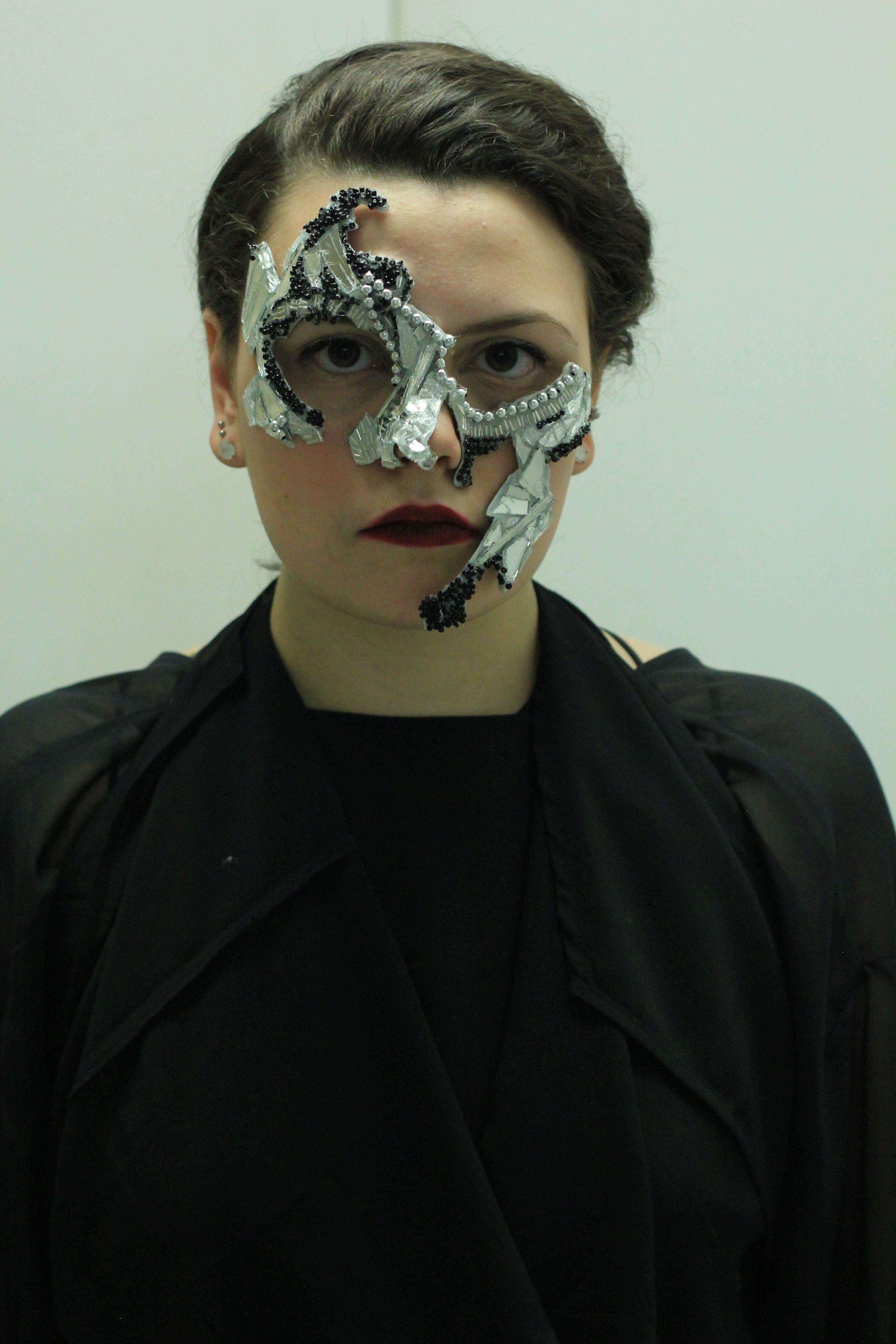 Mirror Mask Detail, Spring 2014