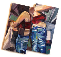 Woman Folding