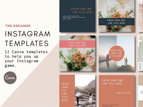 THE DREAMER | Instagram Templates