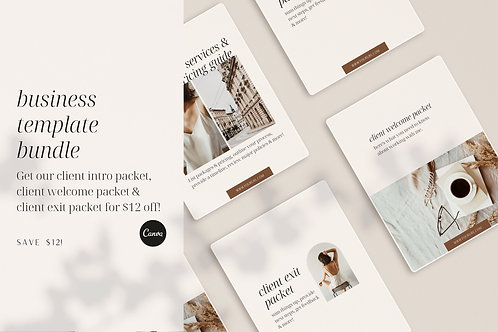 The Business Template Bundle