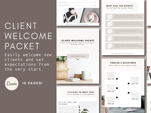 SPECIAL OFFER - CLIENT WELCOME PACKET