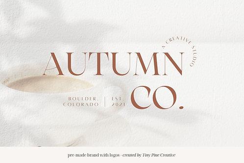 Pre-made Brand with Logos - Autumn Co.