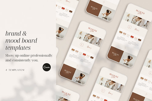 Brand & Mood Board Templates