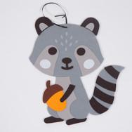 Raccoon Felt Craft - Fall Classic Event.