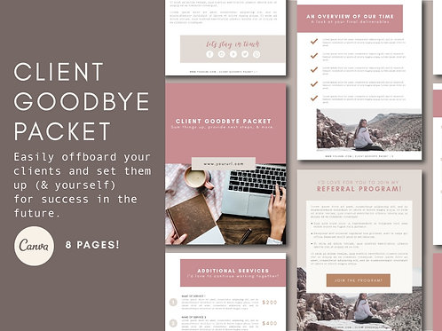 CLIENT GOODBYE PACKET