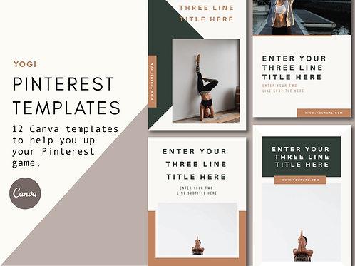 YOGI | Pinterest Templates