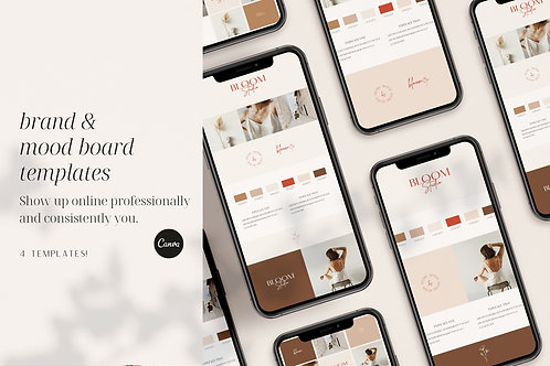 Brand & Mood Board Templates