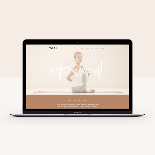 YOGI | Wix Website Template