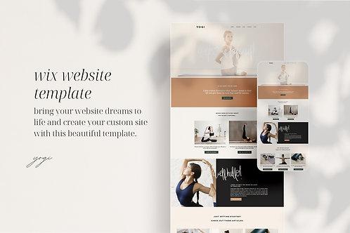 YOGI | Wix Website Template