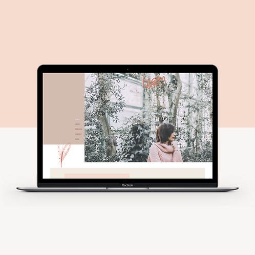 BLOOM | Wix Website Template