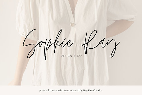 Pre-made Brand with Logos - Sophie Ray