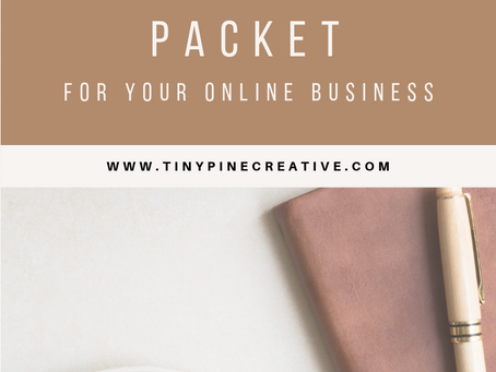 What to Include in Your Client Introduction Packet for your Online Business