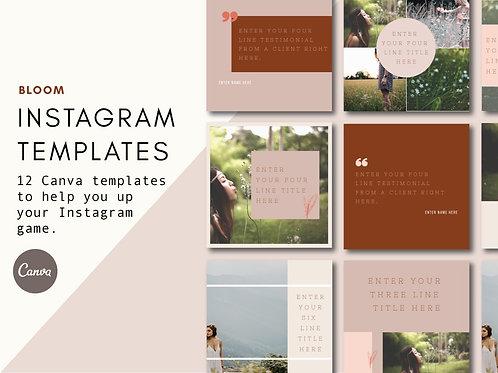 BLOOM | Instagram Templates