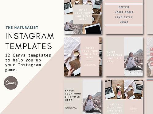 THE NATURALIST | Instagram Templates