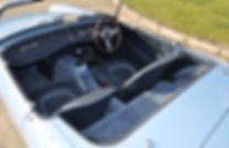 MG Midget Interior