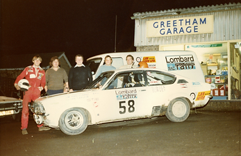 Greetham Garage in the early days