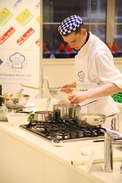 Finalists Prepare Signature Dish