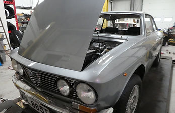 Third down 'Ground up restoration of an Alfa Romeo, in silver
