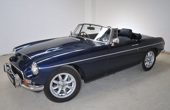 Big picture 'Our MGB fully restored and looking very smart.