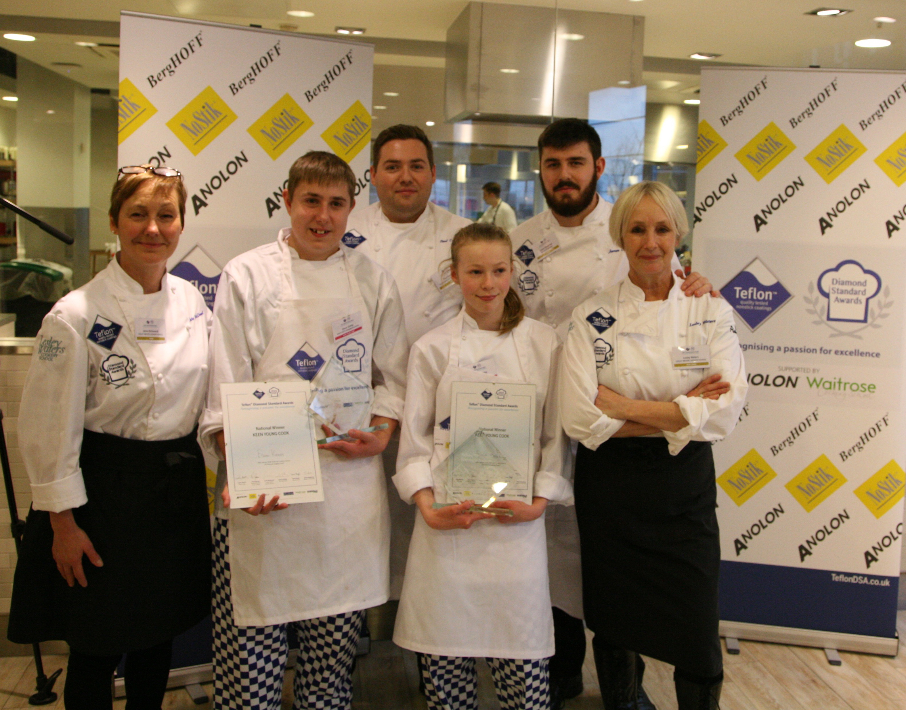 Keen Young Cook winners