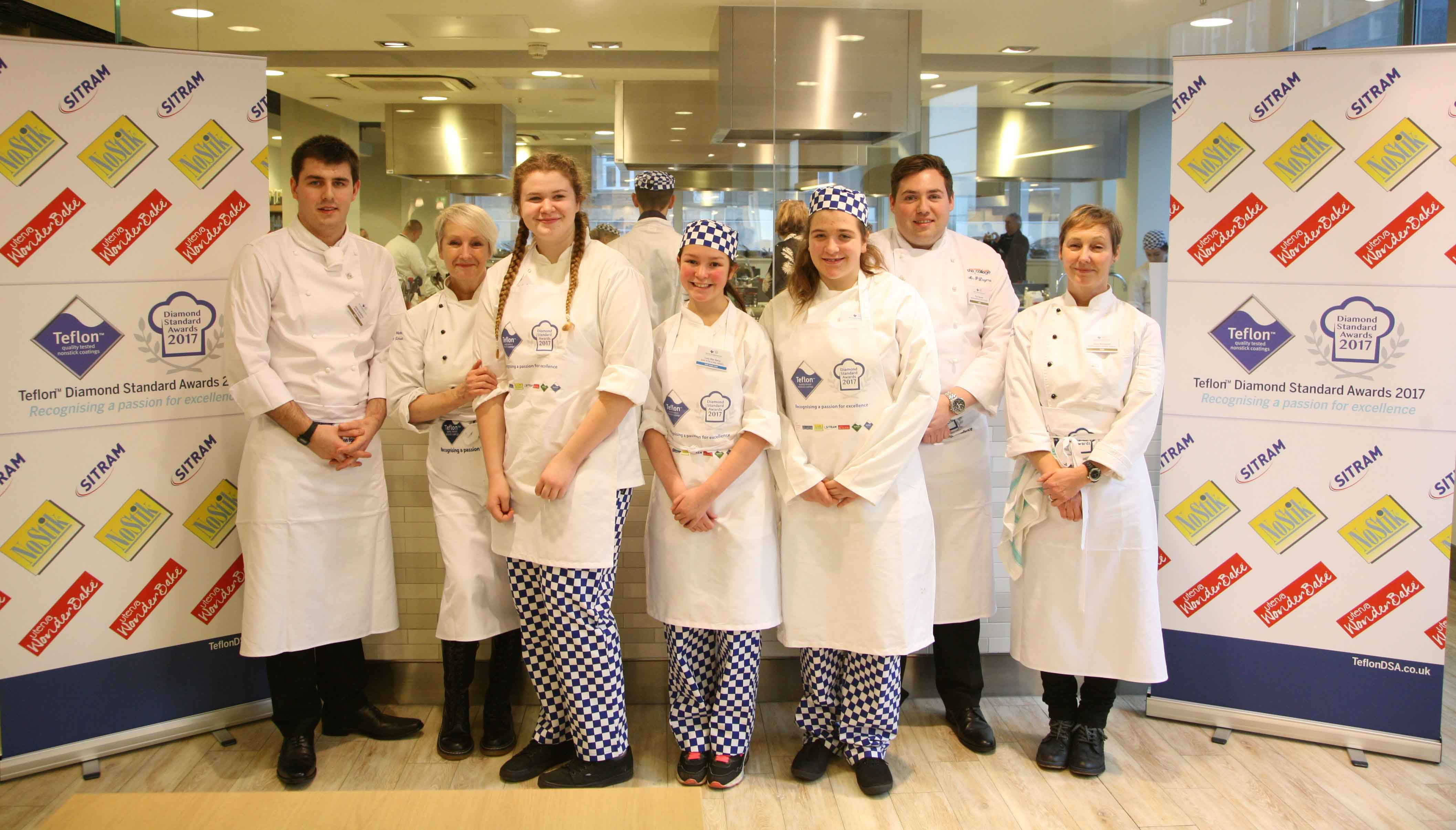Keen Young Cook Winner & Runner Ups