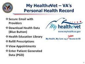 VA My Health eVet