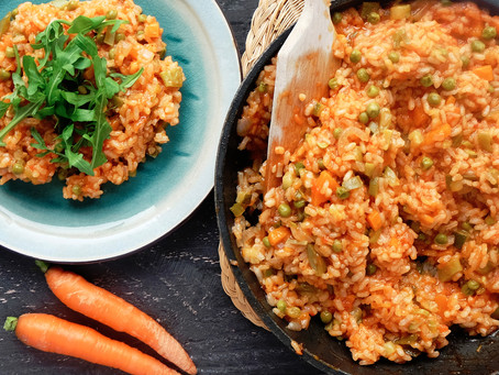 Arròs amb verdures