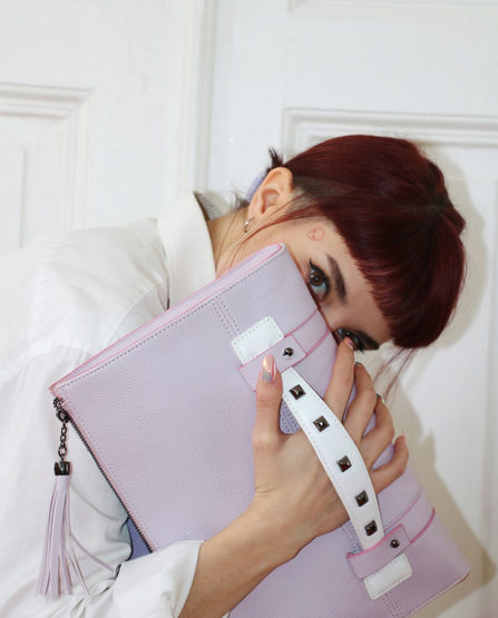 Lilac Power Clutch