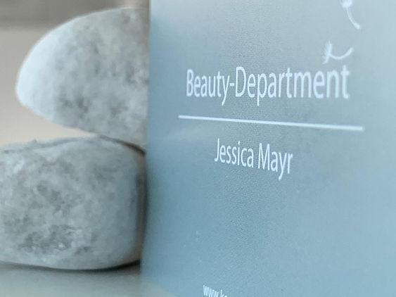 Beauty-Department Jessica Mayr Visitenka
