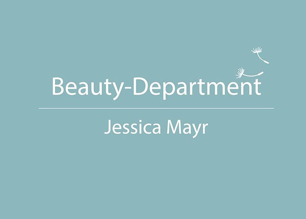 Beauty-Department Jessica Mayr LOGO 210x