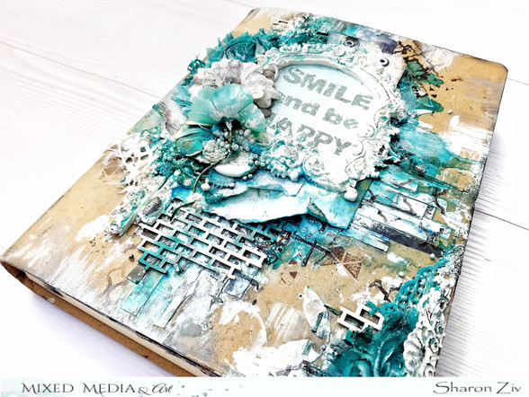 Art Journal Cover - DT Project for MMA (tutorial too!)