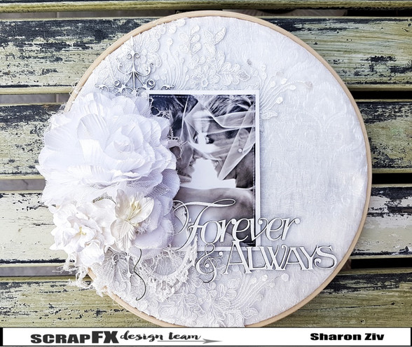 hoop embroidery layout