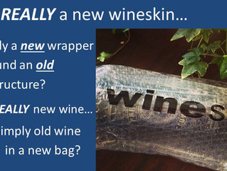 Old tastes better but new is released: The explosion of new wineskins from hidden places