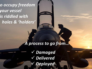 Occupy your full freedom: Dr. Bill Sudduth at The Flight Deck