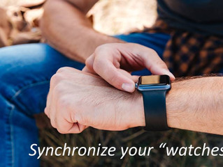 Synchronize your 'watches' - see your Manasseh moment