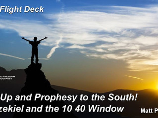 Prophesy to the South - The 10/40 Window and revival fire! Also: Impact Pakistan report
