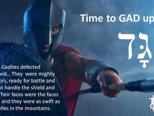The Battle Is Intense: Time to GAD up!