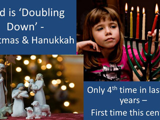God is 'doubling down' - Will you have a tangible response?