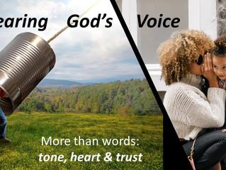 More Than Words: Hear His Tone - His Heart