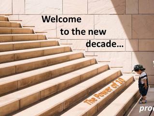 Enter the New Decade Through the Power of Ten