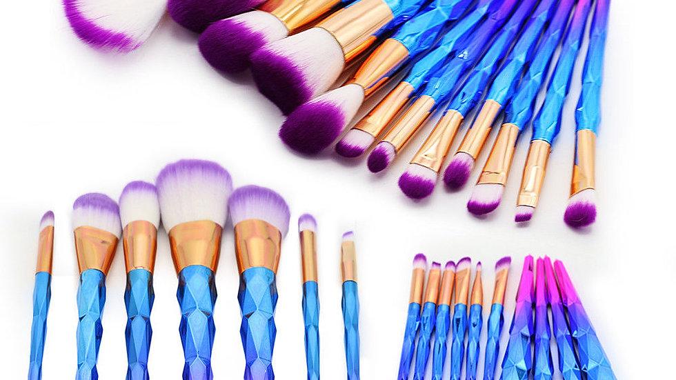 12Pcs Unicorn Makeup Brushes