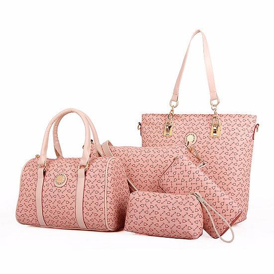 Obssesive Collection purses Set 6 PCS
