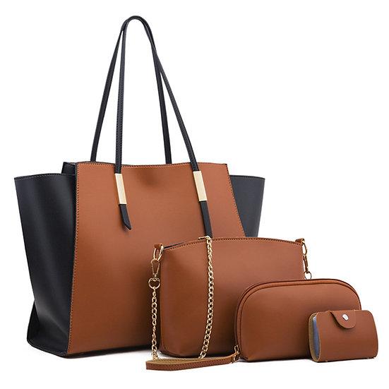 Obssesive Collection Purses boss Fashion 4 PCS